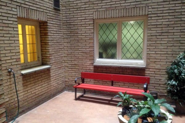 Ambiente tranquilo de residencia de estudiantes