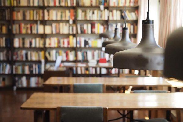 biblioteca de la residencia de estudiantes bilbao