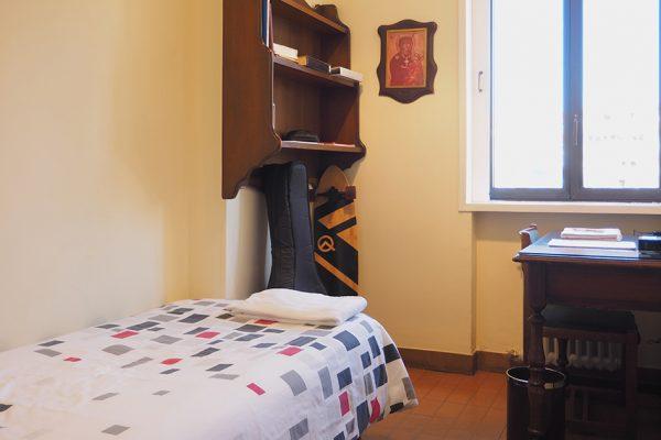 habitaciones individuales de la residencia